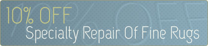Cleaning Coupons | 10% off rug repair | ABC Rug Cleaning & Repair